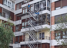 Escaleras de Andamios INOX
