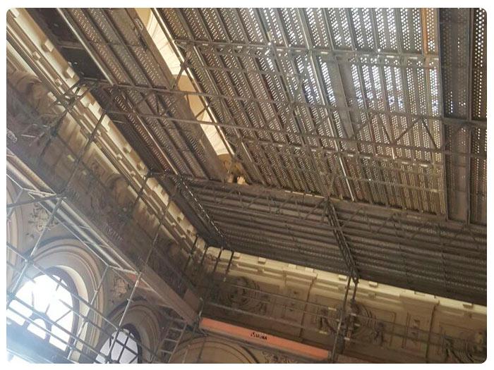 Andamios INOX Singular Edificio Aduanas 1