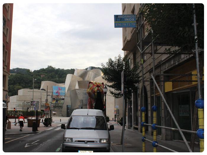 Protecciones Andamios INOX en Iparragirre (Bilbao)
